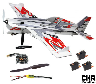 Multiplex BK Extra 330SC Indoor Edition rot/silber CHR-Modellbau Tuning Combo