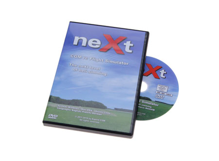 neXt CGM RC Heli Flugsimulator (DVD)